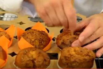 Carmel Vanilla Muffins