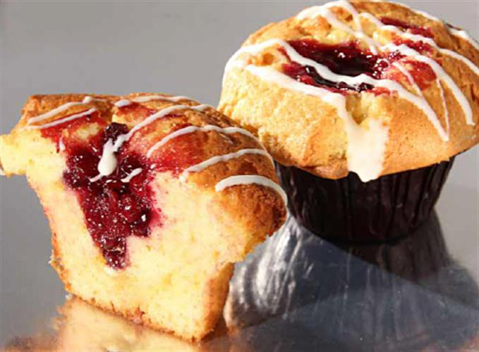 Lingonberry Muffin