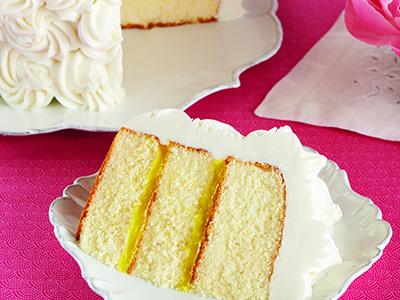 Gâteau citron étagé