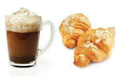Pair baked goods with coffee