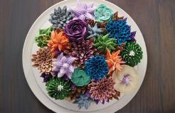 Buttercreme Succulent Cake