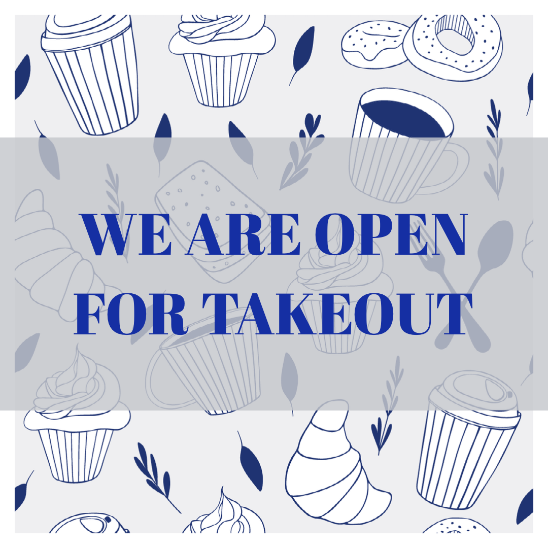 Social media graphic - Dawn Open for Takeout
