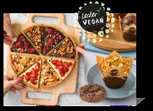 Die vegane feine Bäckerei – Dawn hat das komplette Sortiment