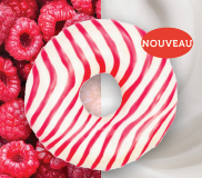 Donut framboise & cream cheese