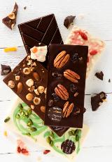 Des tablettes de chocolat créatives