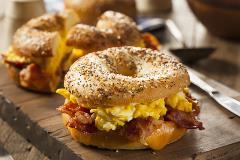 Bakeries can increase sales by offering breakfast options.