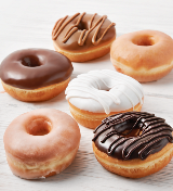 NEW Dawn Mini Donuts for Treating, Snacking and Sharing