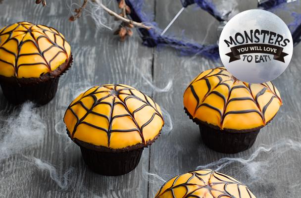 Dawn-Halloween_recipe_Orange-spiderweb-muffins_thumb_608x400