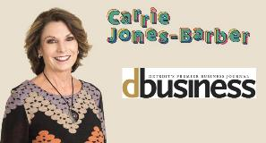 CEO CARRIE JONES-BARBER NAMED A POWERED BY WOMEN AWARD RECIPIENT BY DBUSINESS MAGAZINE