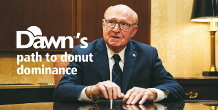 Dawn's path to donut dominance