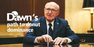 Dawn's path to donut dominance