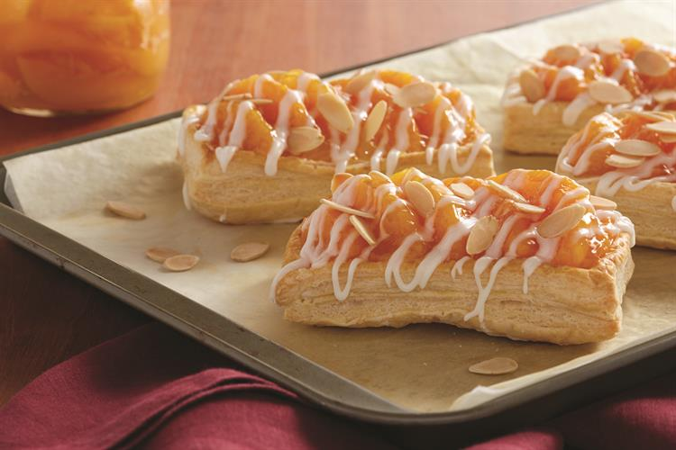 Summer Peach Pastries