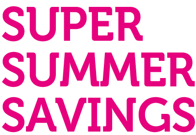 Super-Summer-Savings