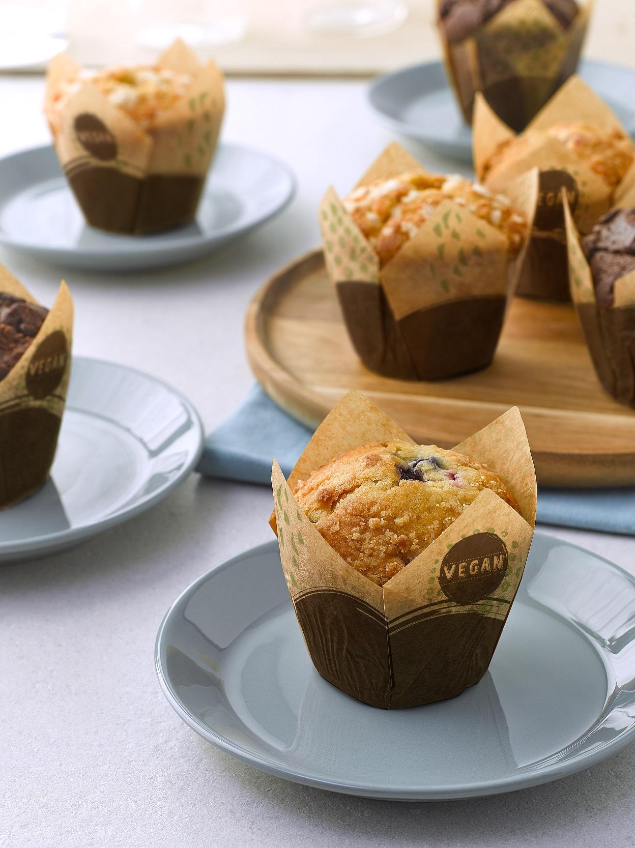 Vegan Frozen Muffins