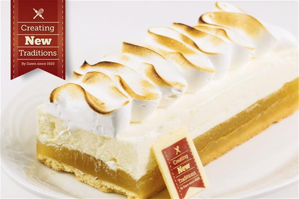 Lemon Meringue Cheesecake Bar
