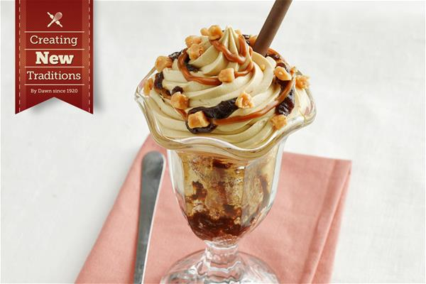 Sticky Toffee Knickerbocker Glory