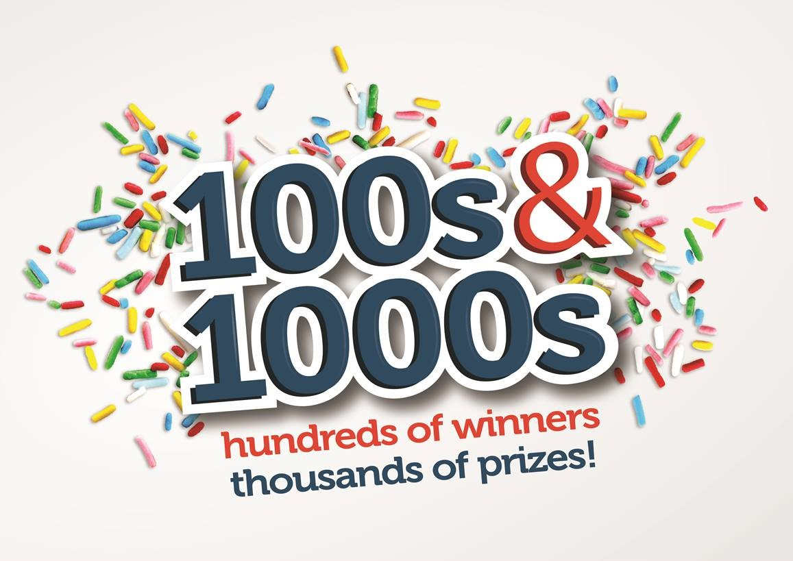 100s and 1000s logo