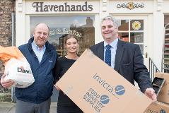 Dawn and Invicta Toast Winning Yorkshire Baker