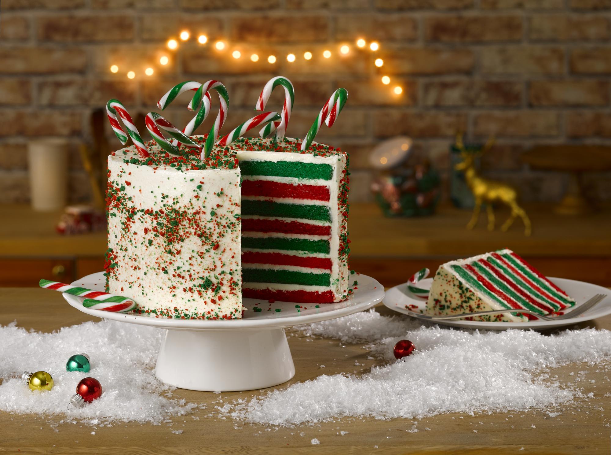 Christmas Candy Cake Cake