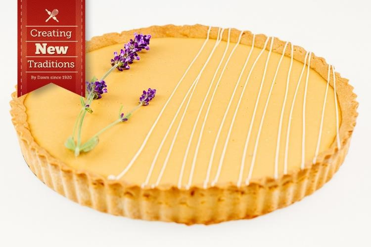 Earl Grey and Lavender Tart