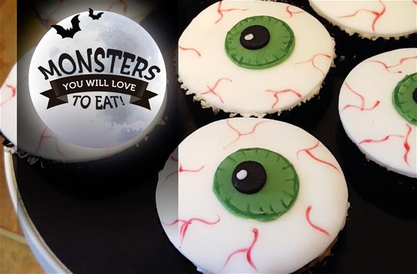 Eyeball muffins