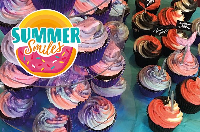 Mermaid  and Pirate Cupcakes