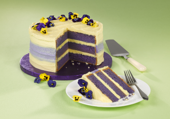 Mothers Day Violet Cake 350px
