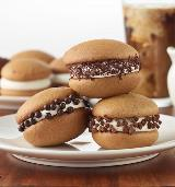 Inspired by You coffee and cream whoopie pies