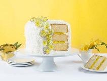 Inspired by You Coconut Pineapple Filling Cake