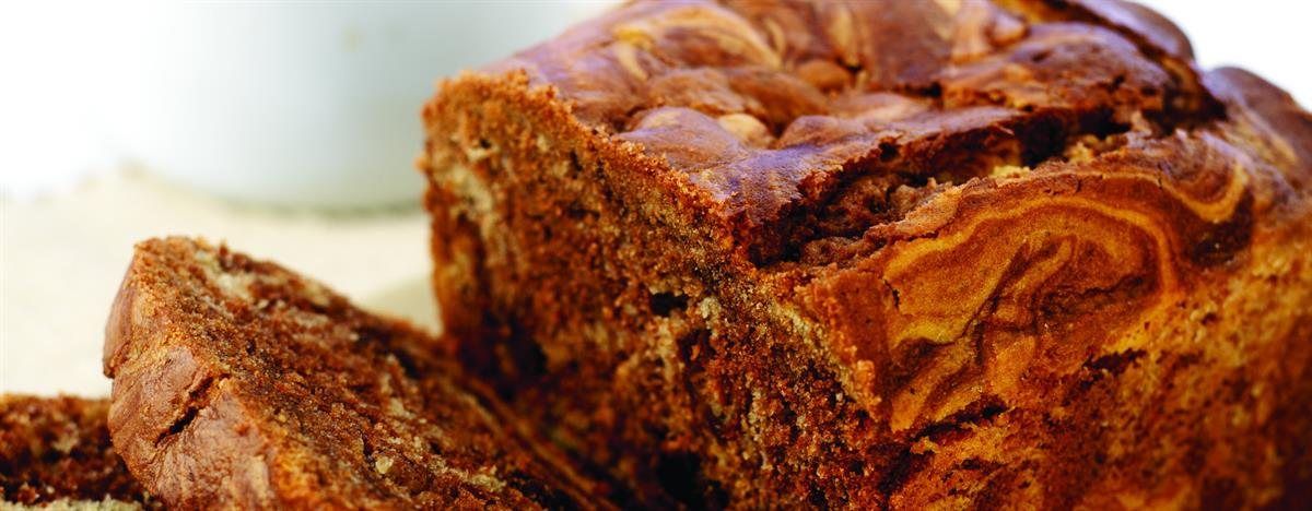 Chocolate Raisin Marble Cake