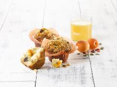 PACK_SURG_600128022 Muffin Flowercup Breakfast fourré abricot 120 g DAWN