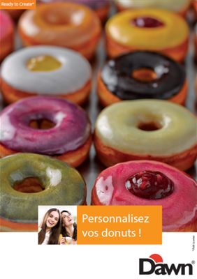 Personnalisez vos donuts