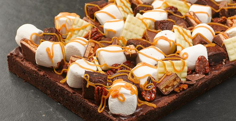 Brownie Rocky road